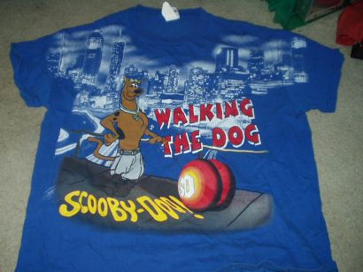 Scooby Doo Walking The Dog Tshirt Price: $13.00 (includes shipping) Size ...